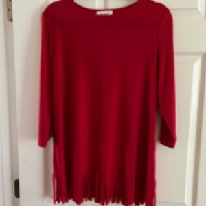 Jersey knit top